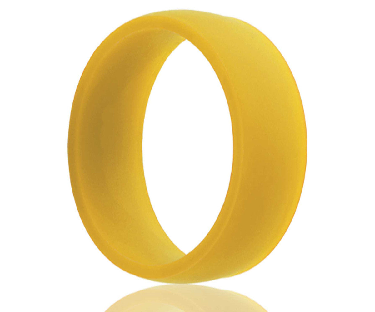 Silicone Rubber Yellow Ring