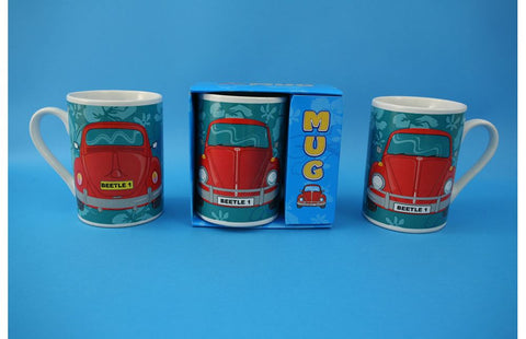 Fun Car Beetle Boxed Mug