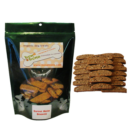 Carrot Anise Biscotti Dog Biscuits