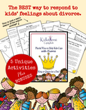 Playful Ways to Help Kids Cope with Divorce:Combo Set