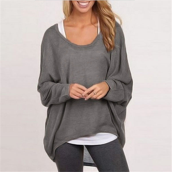 Batwing Loose Fit Spring Sweater