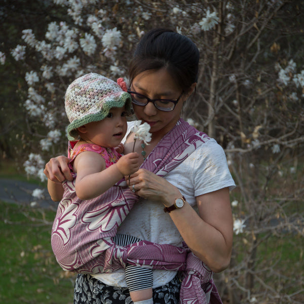 "Cleo ""Darling"" Woven Wrap - Bijou Wear Woven Wraps and Ring Slings baby carrier"