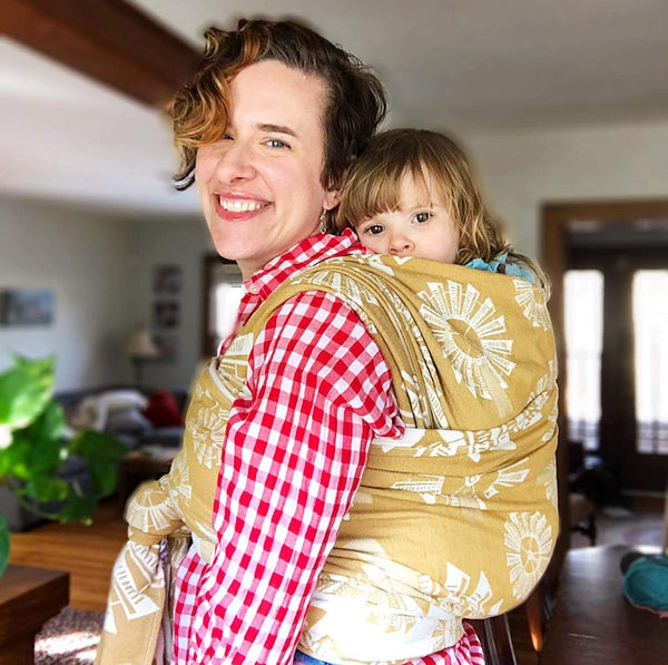 Windmills Harvest - Bijou Wear Woven Wraps and Ring Slings baby carrier