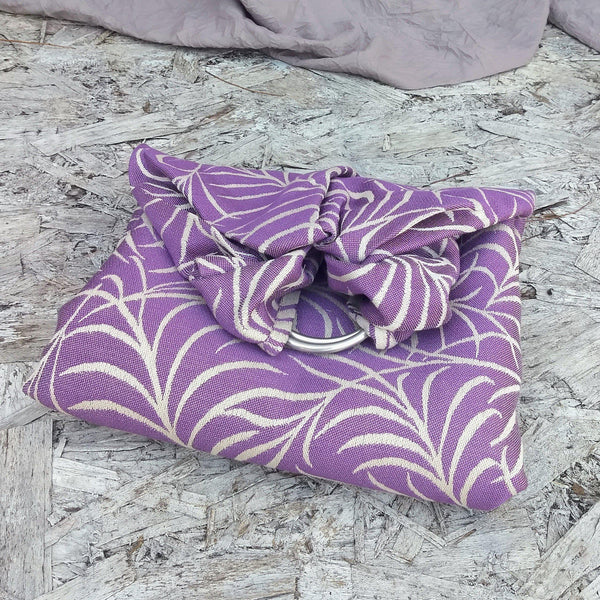 Canopy Bloom Ring Sling-Woven Wraps and Ring Slings-Bijou Wear baby carrier babywearing