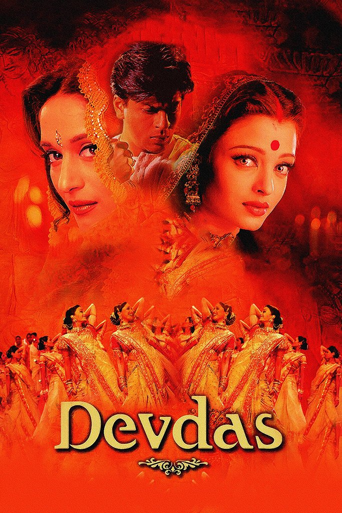 Devdas Bollywood Movie Poster