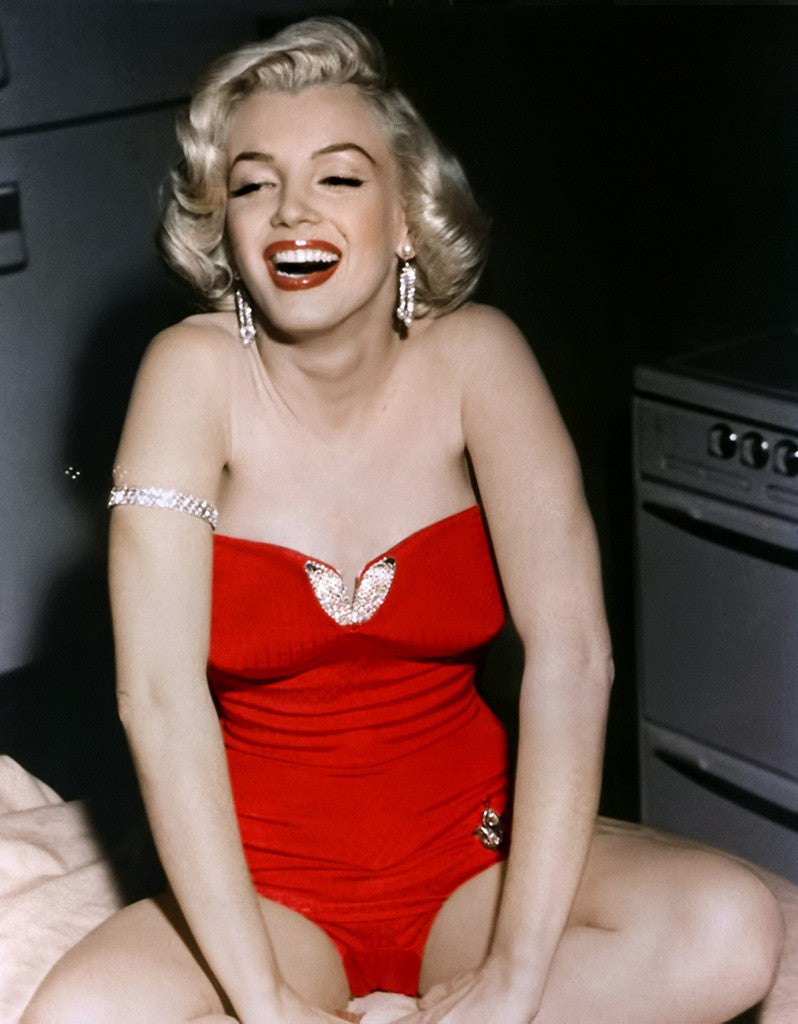 Marilyn Monroe Hot Girl Sexy Woman Full Body Poster