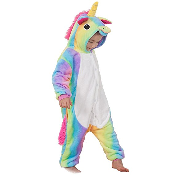Kids Rainbow Unicorn Onesie