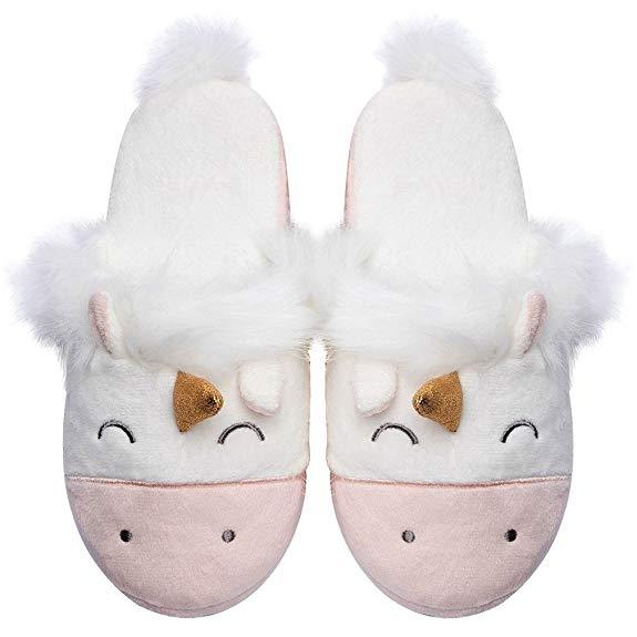 Comfy Unicorn Slippers