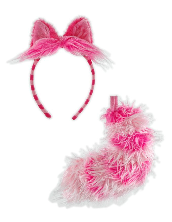 Cheshire Cat Costume Ears and Tail Cosplay - Unicorn Onesies