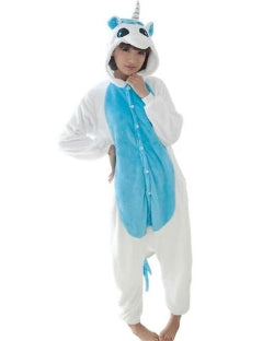 Blue & White Unicorn Onesie