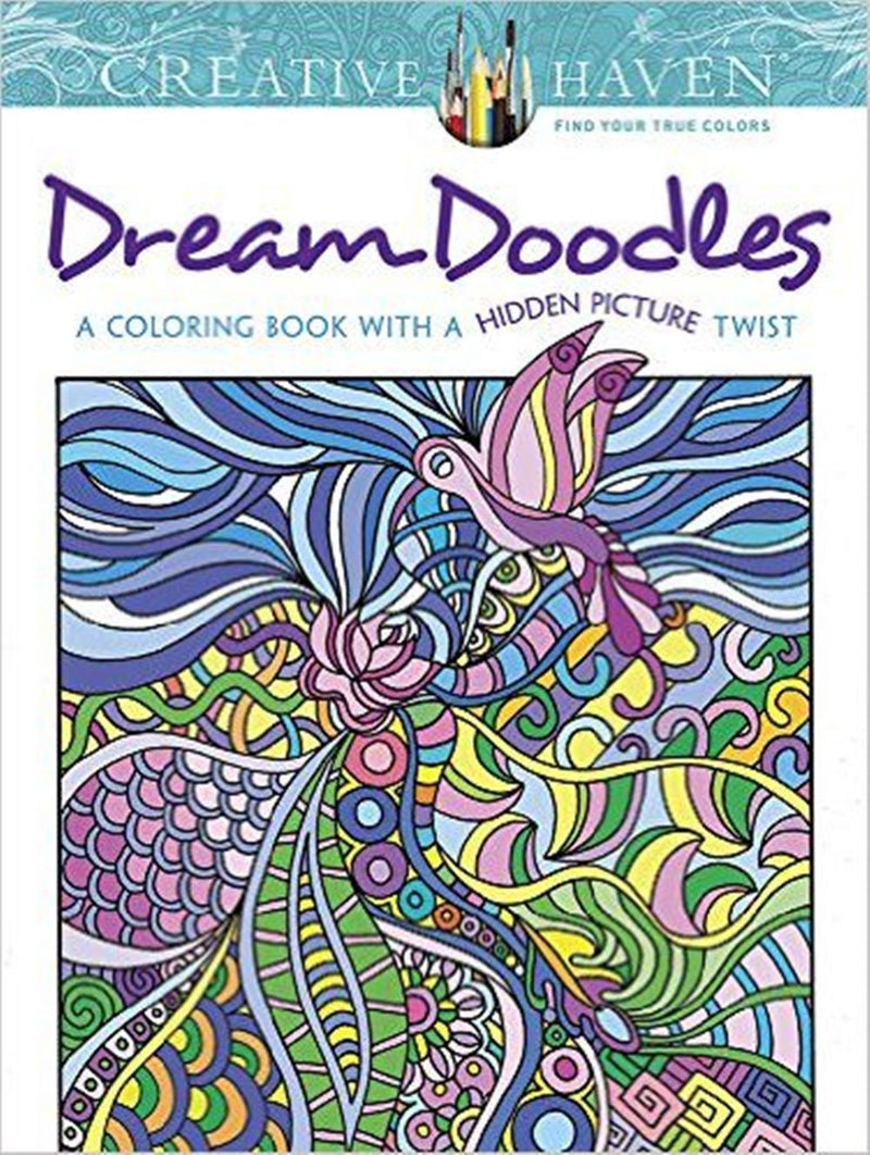 Creative Haven Dream Doodles: A Coloring Book with a Hidden Picture Twist - Unicorn Onesies