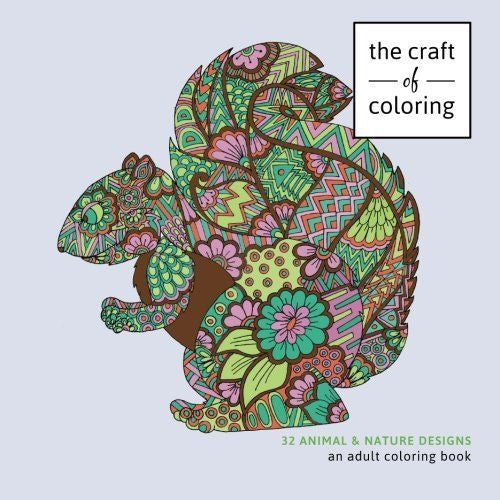 Coloring Books For Grown-Ups 32 Animals Nature Designs Stress Relieving - Unicorn Onesies