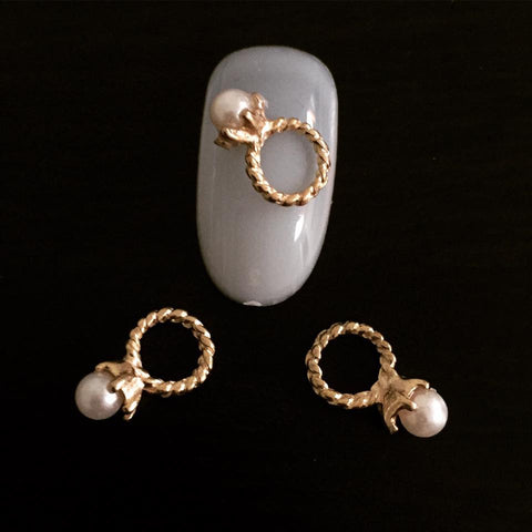 Pearl Ring Charm