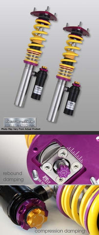 KW Clubsport 3-Way Coilovers - BMW E46 M3 - Suspension - Studio RSR - 1
