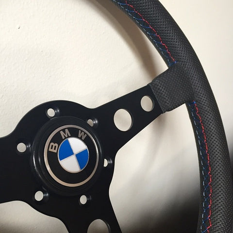 BMW / VW / Porsche Logo Cap Horn Button - Steering Wheel - Studio RSR