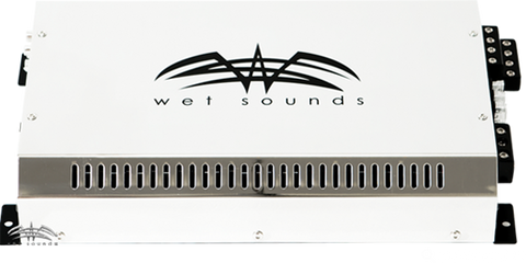 Wet Sounds SYN 4 Full Range 4 Channel Class H Amplifier - Advance Electronics  - 1