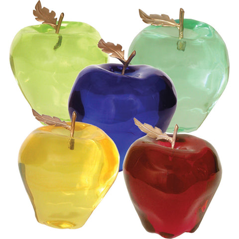 Apples, Set of 5 Acrylic - Accessory - orientalrugpalace