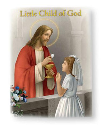 Child of God First Communion Prayer Book Girls