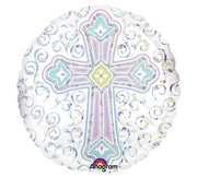 "18"" Round Cross Balloon"