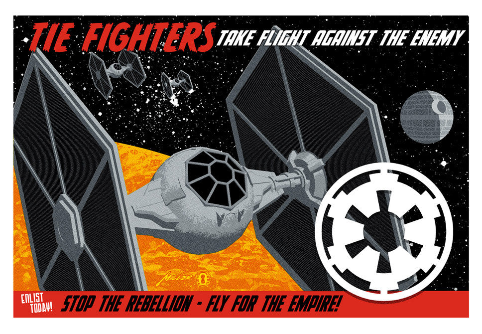 """Fly for the Empire"""
