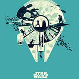 Galaxies Collide by Matt Ferguson | Star Wars