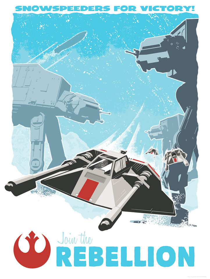 Snowspeeders for Victory | Star Wars Comic-Con 2018 New Release