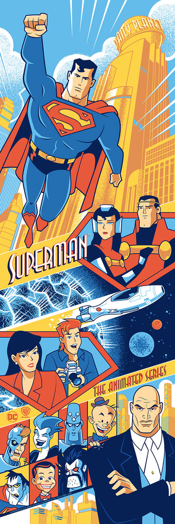 Superman: The Animated Series by Scott Derby