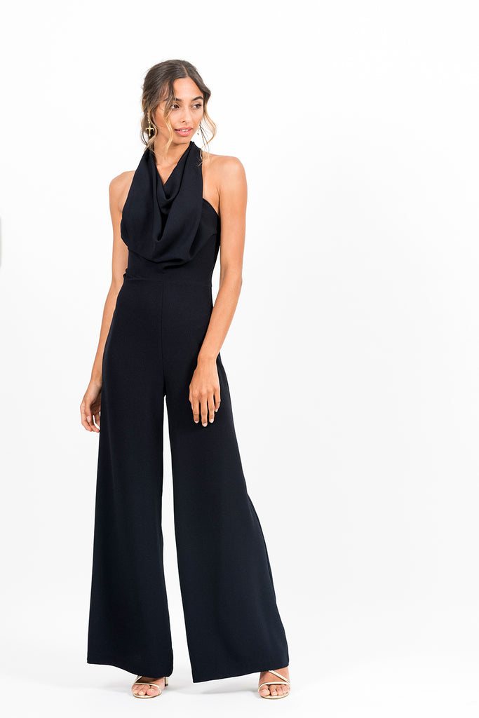 Emily Jumpsuit in Crepe