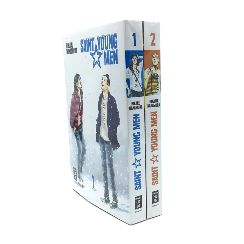 Saint Young Men Manga 1-2