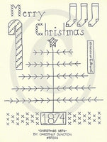 Christmas 1874 Embroidery ePattern