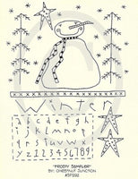 Frosty Sampler Embroidery ePattern