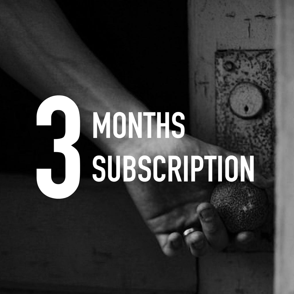 3 Months Subscription 3 x 250gr