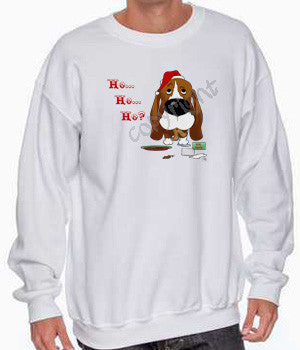 Basset Hound Santa's Cookies Shirts - More Styles and Colors Available