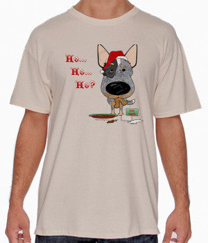 Blue Heeler Santa's Cookies Shirts - More Styles and Colors Available