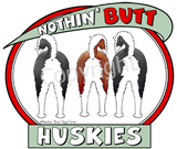 Nothin' Butt Tshirt - Natural Colored  (70+ Breeds Available) German Shepherd - Labrador Section