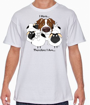 Red Aussie I Herd T-shirts - More Colors Available