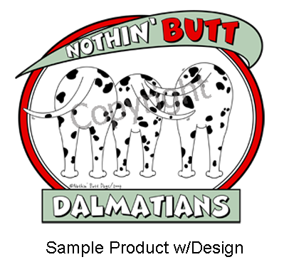 Nothin' Butt Sticker - (70+ Dog Breeds Available)