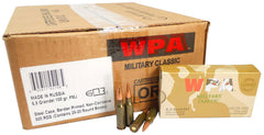Wolf MC65GRENFMH Military Classic Rifle 6.5mm Grendel 100 GR Full Metal Jacket 20 Bx/ 25 Cs 500 Total (Case) - 500 Rounds