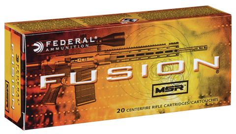 Federal F65GDLMSR1 Fusion MSR 6.5 Grendel 120 GR Soft Point 20 Bx/ 10 Cs