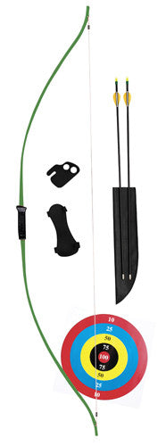 Bear Titan Bow Set 60in. 20-29lb  22-28in Draw R/L Hand