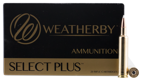 Weatherby N257110ACB Soft Point 257 Weatherby Magnum AccuBond CT 110 GR 20Rds