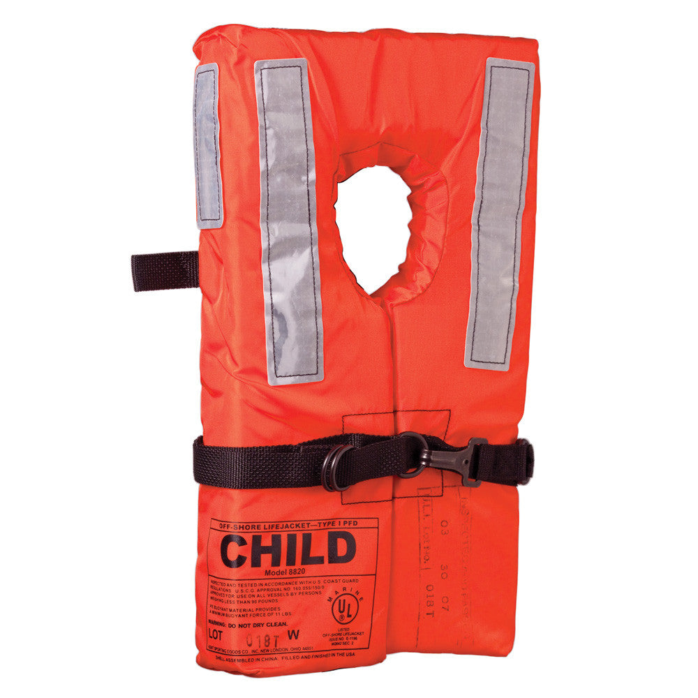 Kent Type I Collar Style Life Jacket - Child