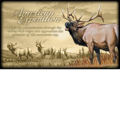 American Expedition Canvas Art - Elk