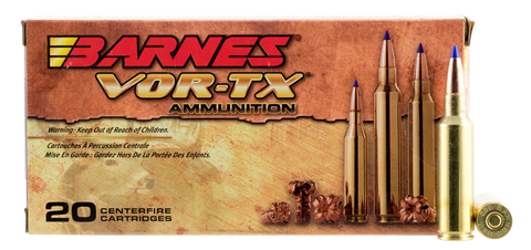 Barnes 21536 VOR-TX 300 Win Short Mag 165GR Tipped TSX Boat Tail 20Box/10Case