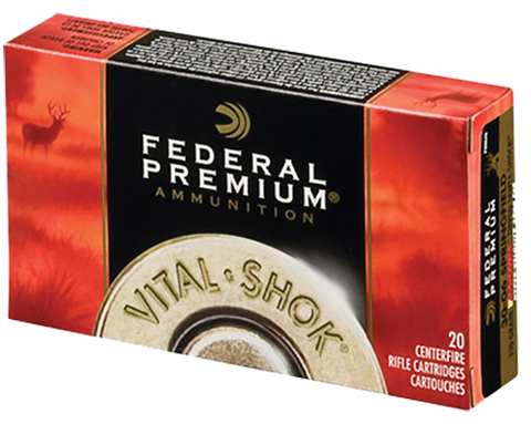Fed P300WSMTC2 Vital-Shok 300 Win Short Mag 165GR Trophy Copper 20Box/10Case