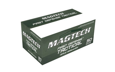 Magtech First Defense Tactical, 556NATO, 62 Grain, Full Metal Jacket, 50 Round Box CBC556B