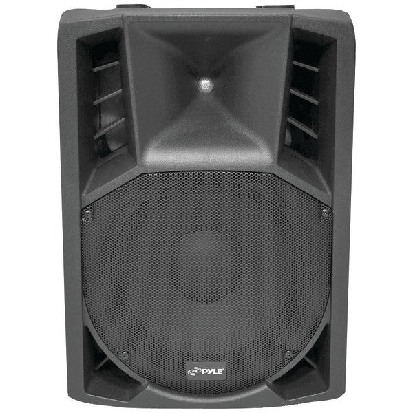 Pyle Pro Pphp128Ai 1,200-Watt Powered 2-Way Full Range Pa Speaker With Built-In Ipod(R) Dock & Microphone
