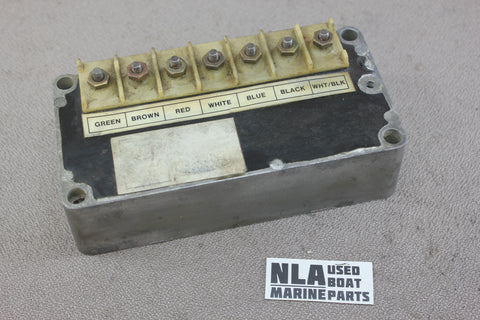 Mercury 332-4796A6 Switch Box Assembly Outboard 65hp 650 3cyl Late 1974-1976