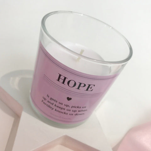 Hope Fertility Scented Keepsake Candle