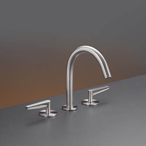 CEA Three-hole Bathroom Faucet Flag Deck Mounted